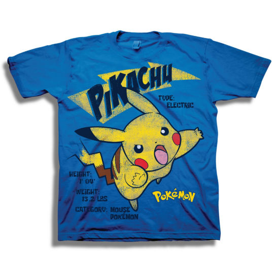 Short Sleeve Pokemon T-Shirt-Preschool Boys