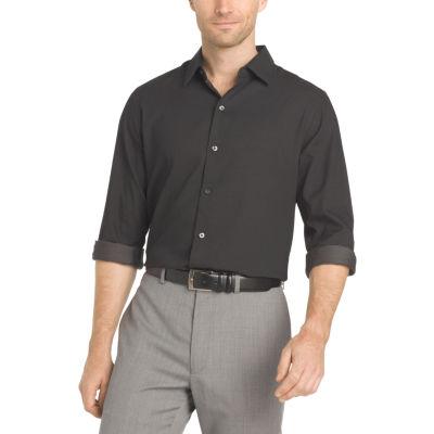 Van Heusen Long Sleeve Micro Dot Shirt