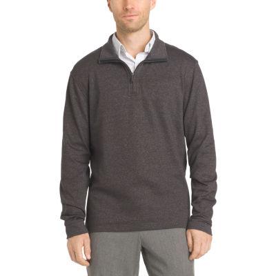 Van Heusen® Long Sleeve Flex Quarter Zip
