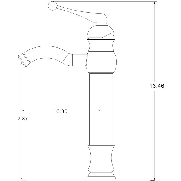 American Imaginations 22-in. W Above Counter White Vessel Set For Deck Mount Drilling - Faucet Included