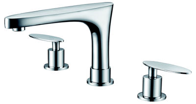 American Imaginations 20.25-in. W Wall Mount White Vessel Set For 3H8-in. Center Faucet - Faucet Included
