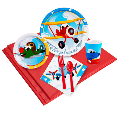 Buyseasons Airplane Adventure Party Pack