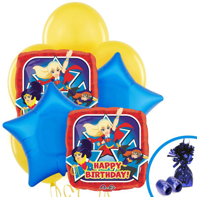 DC Super Hero Girls Balloon Bouquet