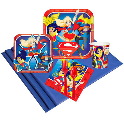 DC Super Hero Girls 16 Guest Party Pack