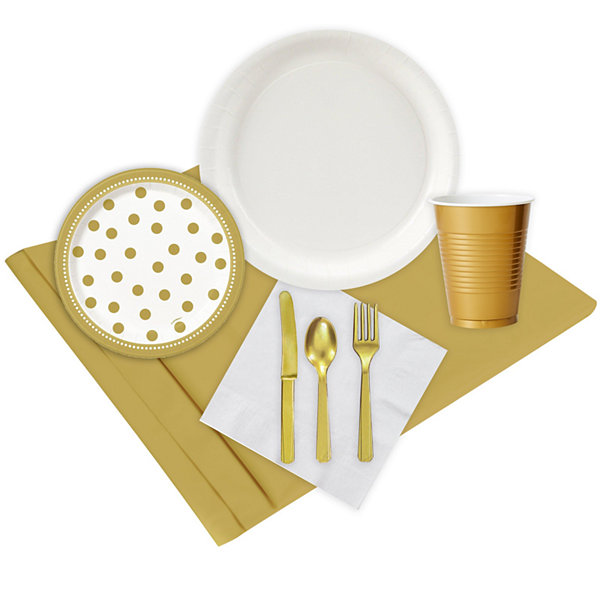 Gold & White Party Pack