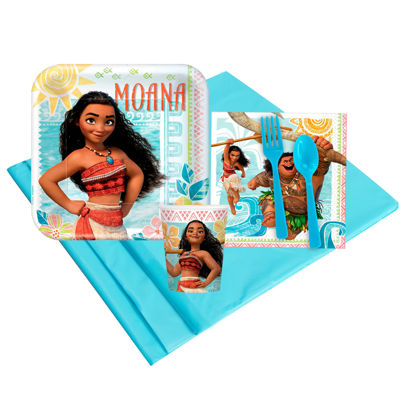 Disney Moana 8 Guest Party Pack