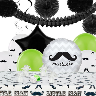 Mustache Man Party Pack