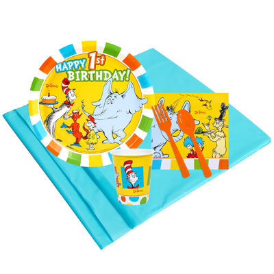 Buyseasons Dr Seuss 1st Birthday Party Pack