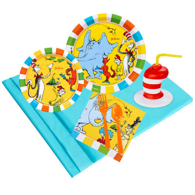 Dr.Seuss Favorites 16 pc Guest Pack Plus Molded Cups