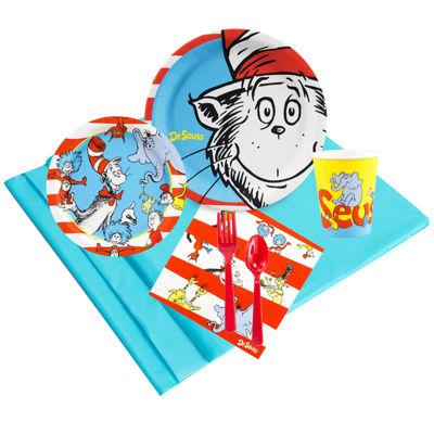 Dr Seuss 24 Guest Party Pack