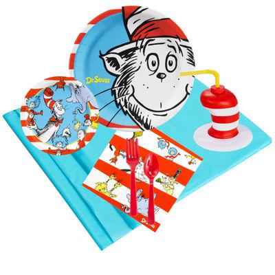 Dr. Seuss 16 pc Guest Pack Plus Molded Cups
