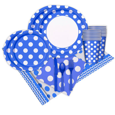 Buyseasons Blue And White Party Pack