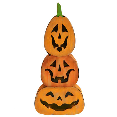 Jackolantern/Pumpkin Stacked Light Decor