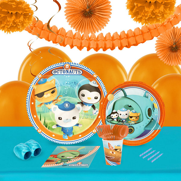 Octonauts 16 Guest Tableware & Deco Kit