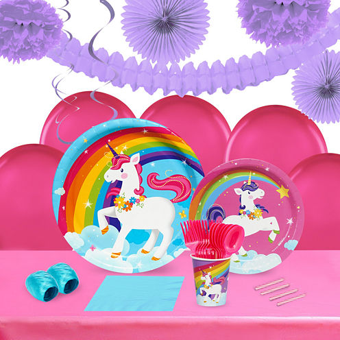Buyseasons Fairytale Unicorn Party Pack