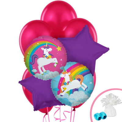 Fairytale Unicorn Party Balloon Bouquet