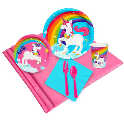 Fairytale Unicorn Party 24 Guest Party Pack