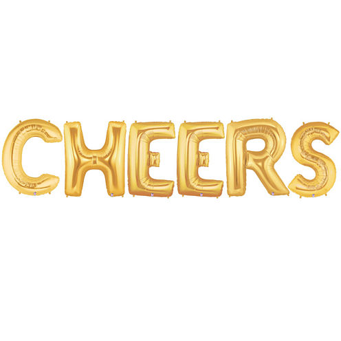 Jumbo Gold Cheers Party Pack