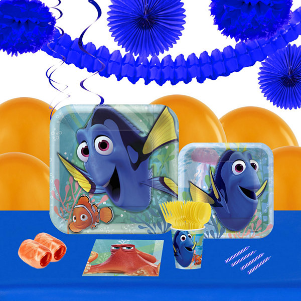 Finding Dory 16 Guest Tableware & Deco Kit
