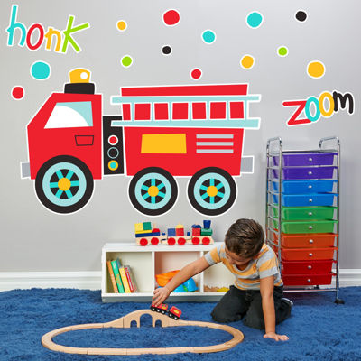 Buyseasons Fire Truck Party Pack
