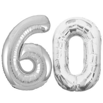 Jumbo Silver 60 Party Pack