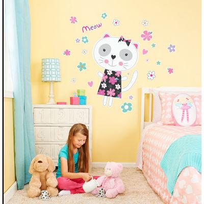Cat Home Room Decor Removable Wall/Locker/Door/Decal Kids/Children