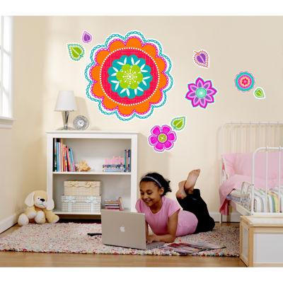 Flower Home Room Decor Removable Wall/Locker/Door/Decal Kids/Children