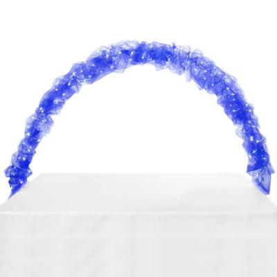 Celebration Tulle & Light Arch-Blue