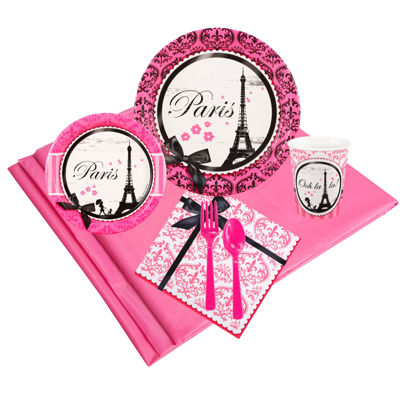 Paris Damask Party Pack