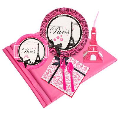 Paris Damask 16 pc Guest Pack Plus Molded Cups