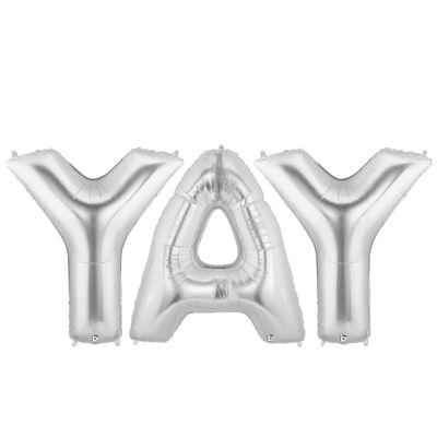 Jumbo Silver Foil-YAY