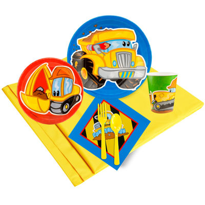Buyseasons Construction Pals Party Pack