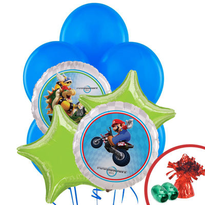 Mario Kart Wii Balloon Bouquet