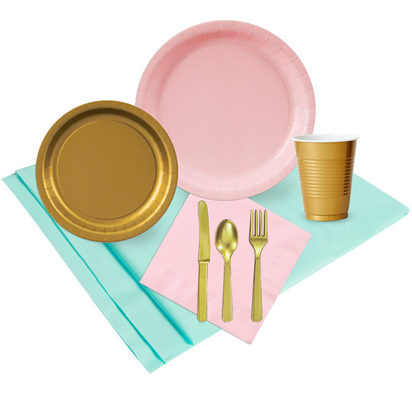 Mint Pink & Gold Party Pack