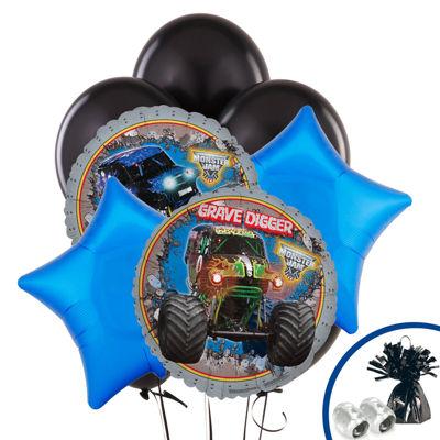 Monster Jam 3D Balloon Bouquet