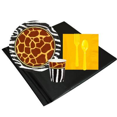 Safari Animal Adventure Party Pack