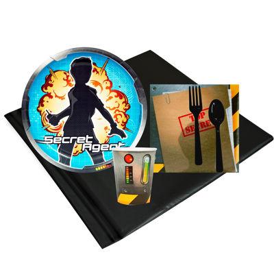 Secret Agent Party Pack