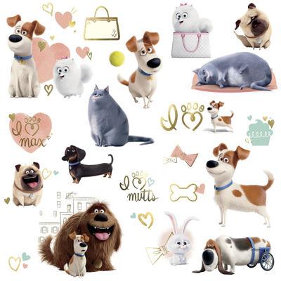 Secret Life of Pets Girls Wall Decals