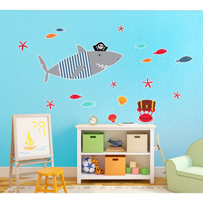 Shark Home Room Decor Removable Wall/Locker/Door/Decal Kids/Children