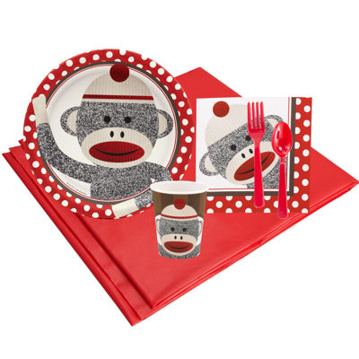 Sock Monkey Party Pack