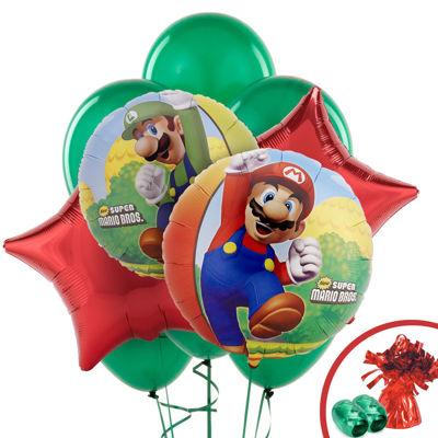 Super Mario Bros. Balloon Bouquet