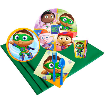 Super Why Party Pack