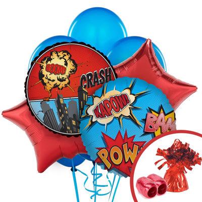 Superhero Comic Balloon Bouquet