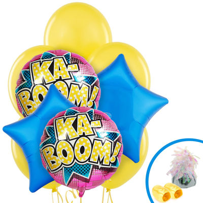 Superhero Girl Balloon Bouquet