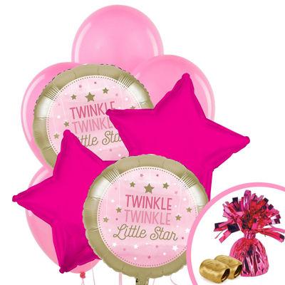 Twinkle Twinkle Little Star Pink Balloon Bouquet