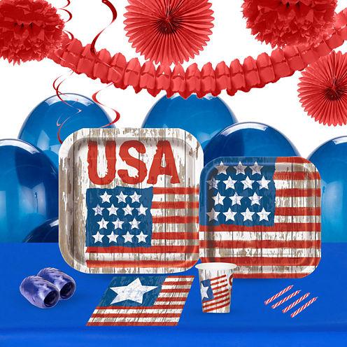 Vintage Patriotic Party Pack