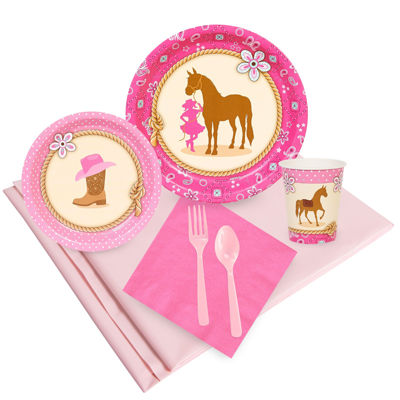 Western Cowgirl Party Pack
