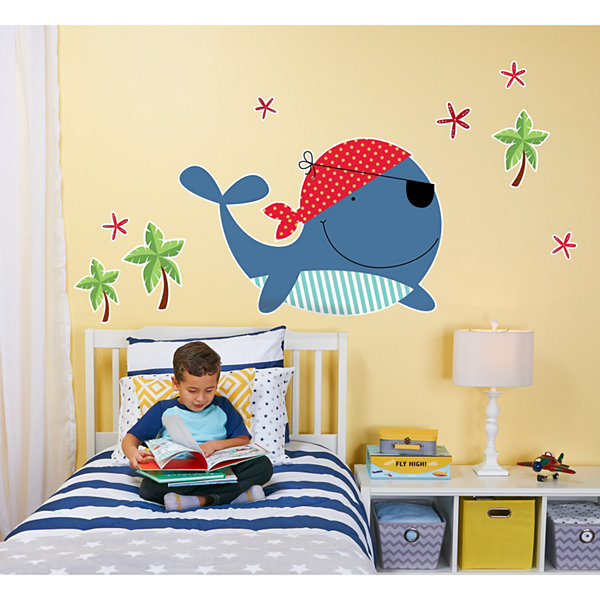 Whale Giant Wall Decal