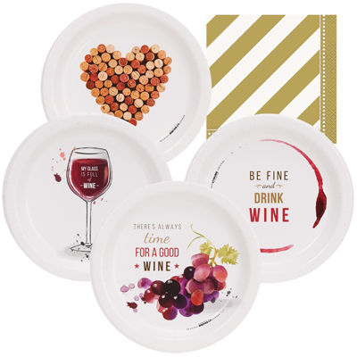 Wine Party 32 pc Appetizer Pack