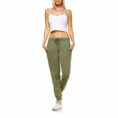 White Mark Amazingly Soft Knit Jogger Pants